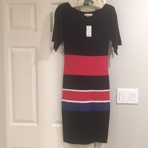 Banana republic striped dress NWT